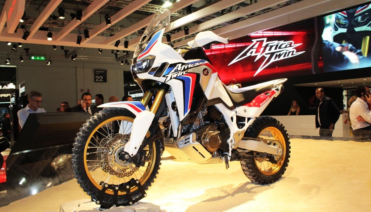 16YM HONDA CRF1000L Africa Twin at the EICMA 2015