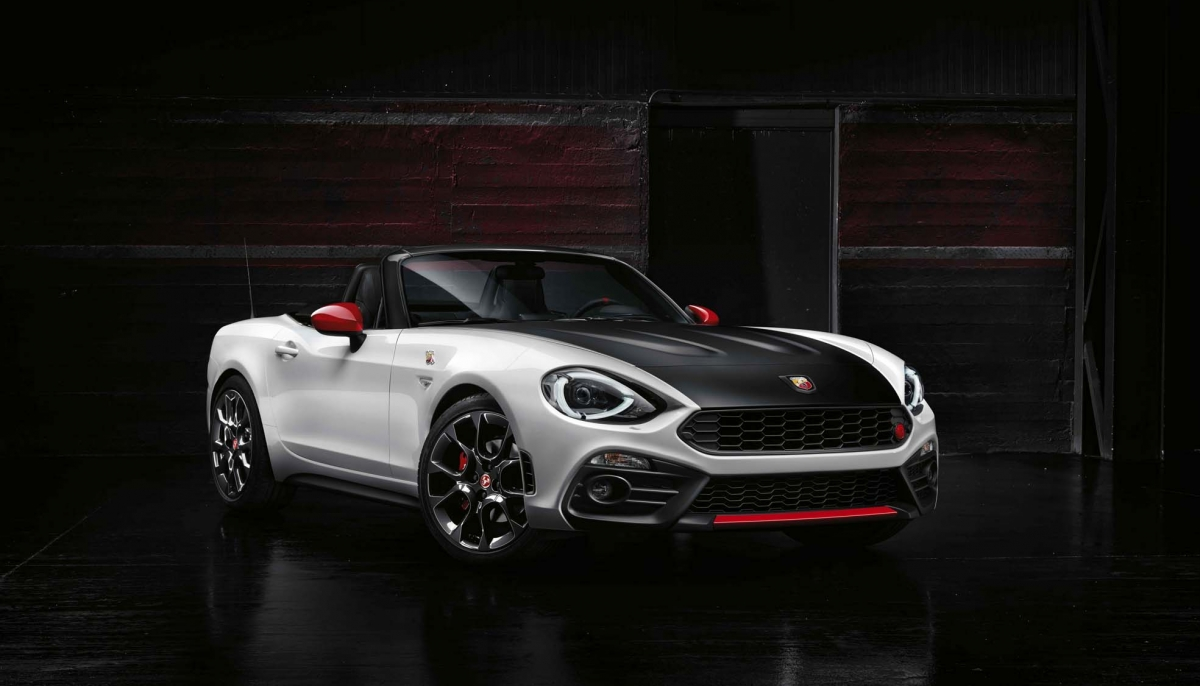 ABARTH 124 SPIDER AT THE 2016 GENEVA INTERNATIONAL MOTOR SHOW