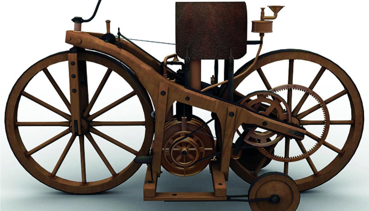 تاريخ الدراجة النارية