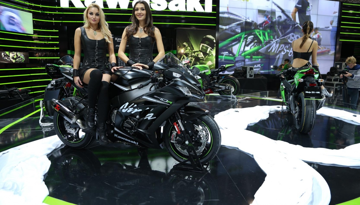 Kawasaki in exciting journey at EICMA show