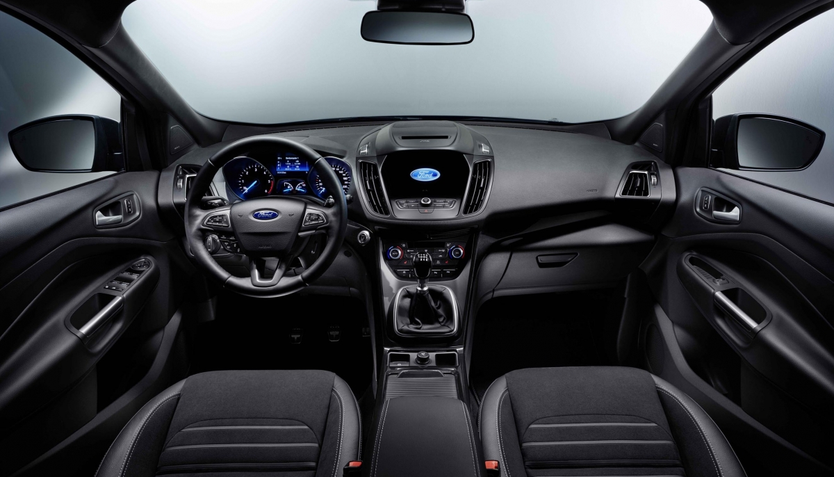 FORD UNVEILS ADVANCED, SPORTY AND EFFICIENT NEW KUGA SUV WITH SYNC 3