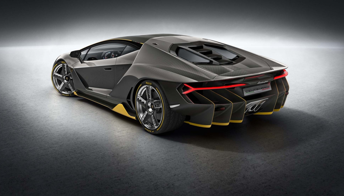 The Lamborghini Centenario