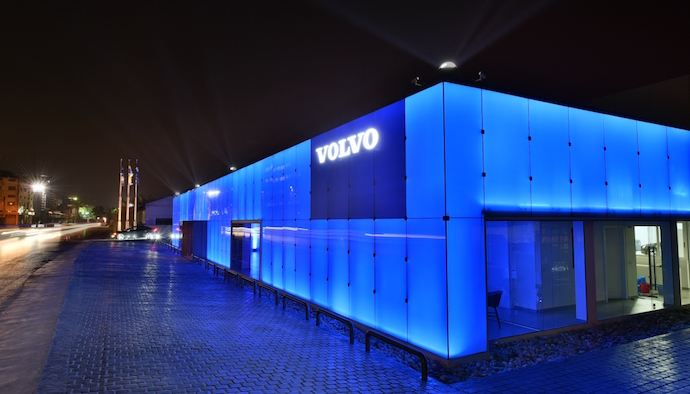 Volvo Launches its New Showroom and Announces its Partnership with Beirut Marathon Association