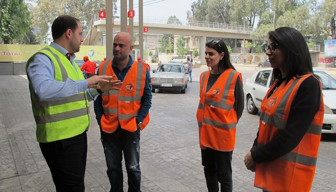Total Liban Celebrates World Safety Day