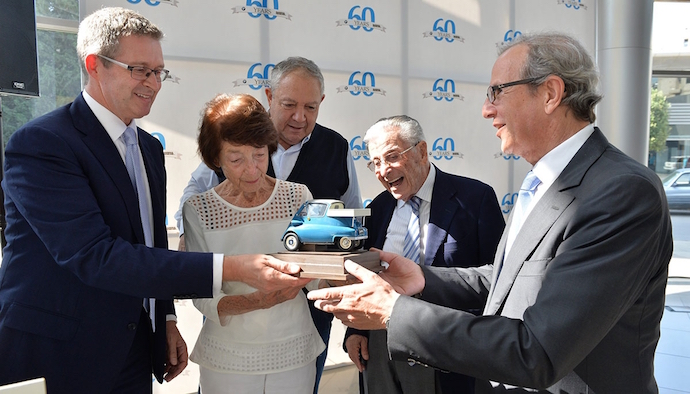 The worlds oldest BMW Group importer celebrates six decades of success